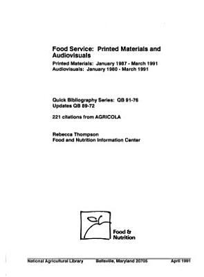 Food Service PDF