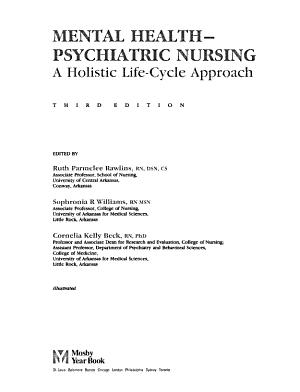 Mental Health-psychiatric Nursing