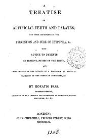A treatise on artificial teeth and palates