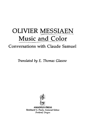Music and Color PDF