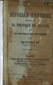 Au suffrage universel