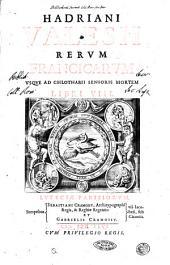 Hadriani Valesii Rerum Francicarum vsque ad Chlotarii senioris mortem libri 8: Volume 1