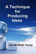 A Technique for Producing Ideas Book