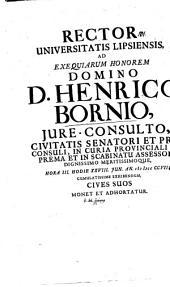Henricus Bornius