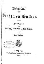 Liederbuch des deutschen Volkes