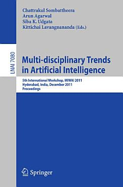 Multi disciplinary Trends in Artificial Intelligence PDF