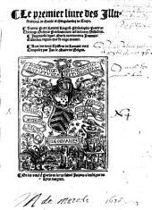 Le premier au tiers livre des illustrations de Gaule