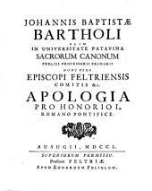 Apologia pro Honorio I. Romano Pontifice