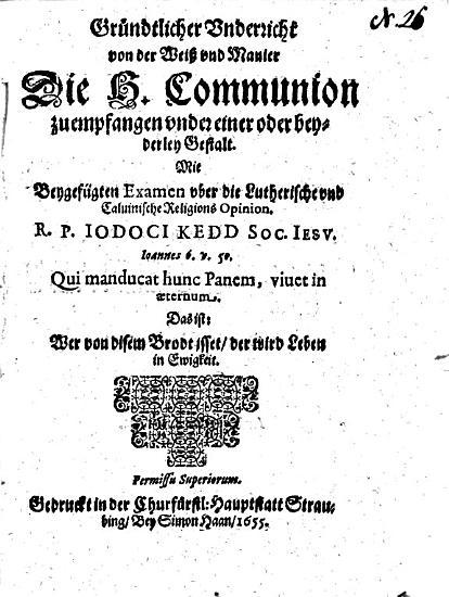Gr  ndtlicher Underricht von der Wei   und Manier Die H  Communion zu empfangen under einer oder beyderley Gestalt PDF