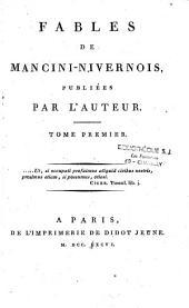 Oeuvres de Mancini-Nivernois. Tome I [-tome VIII]