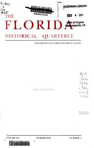 The Florida Historical Quarterly PDF
