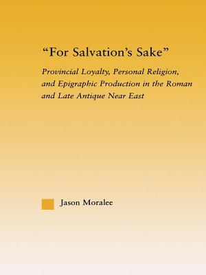 For Salvation s Sake PDF