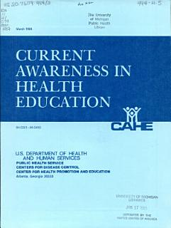 Current Awareness in Health Education Book