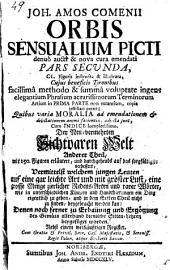 Orbis Sensualium picti, pars secunda
