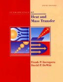 Fundamentals of Heat and Mass Transfer 5th Edition with IHT2.0/FEHT with Users Guides
