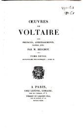 Oeuvres de Voltaire: Volume28