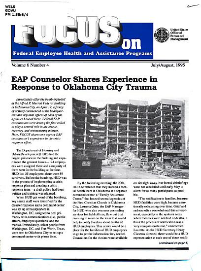 Focus on Federal Employee Health and Assistance Programs PDF