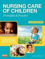 Nursing Care of Children PDF