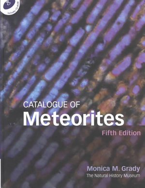 Catalogue of Meteorites Reference Book with CD ROM PDF