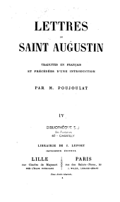 Lettres de Saint Augustin