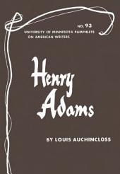 Henry Adams: Volume 93