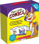 First Little Comics Parent Pack  Levels E and F Book