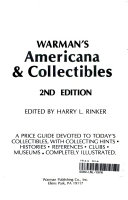 Warman's Americana and Collectibles