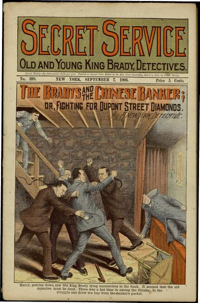 The Bradys and the Chinese Banker; Or, Fighting for Dupont Street Diamonds
