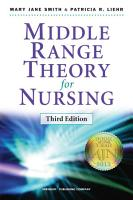 Middle Range Theory for Nursing PDF
