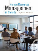 Human Resources Management in Canada  Thirteenth Canadian Edition