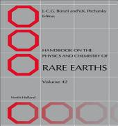 Handbook on the Physics and Chemistry of Rare Earths: Volume 42