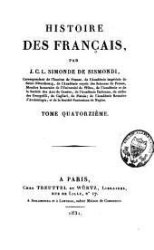 Histoire des Français: Volume14