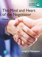The Mind and Heart of the Negotiator  eBook  Global Edition  PDF