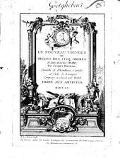 Le nouveau Vignole ou Règles des cinq ordres d'architecture: Enrichi de moulures, cartels, et culs de lampes