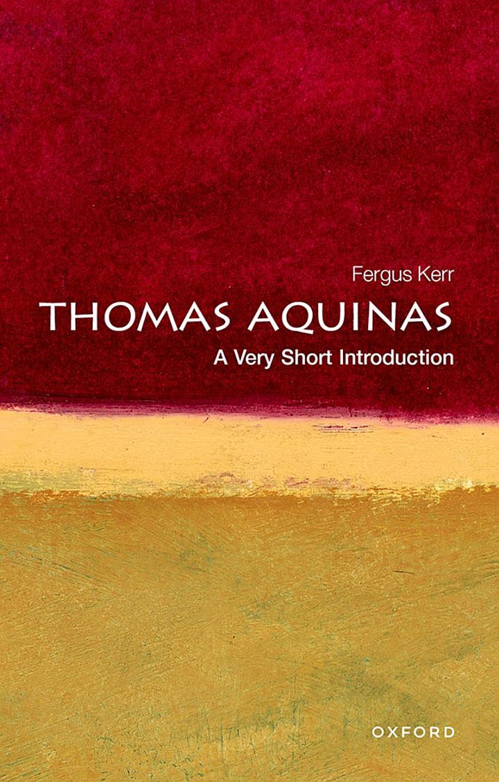 Thomas Aquinas: A Very Short Introduction