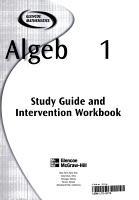 Algebra 1 PDF
