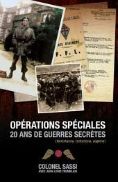 Opérations spéciales: 20 ans de guerres secrètes