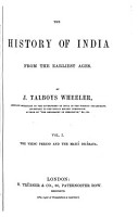 The History of India from the Earliest Ages PDF