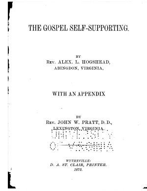 The Gospel Self supporting
