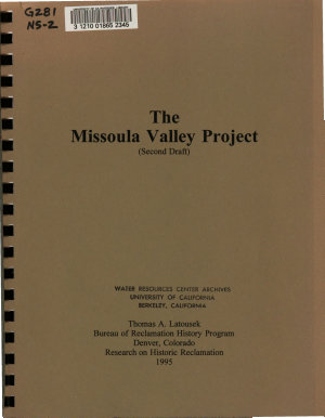 The Missoula Valley Project