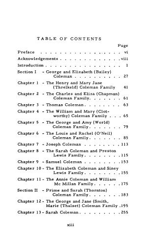 Coleman Pioneers of Utah PDF