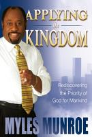 Applying the Kingdom PDF