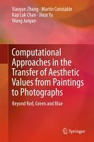 Computational Approaches in the Transfer of Aesthetic Values from Paintings to Photographs PDF