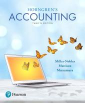 Horngren's Accounting: Edition 12