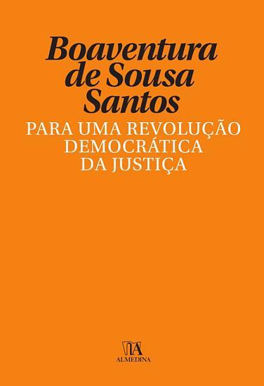 Para uma Revolu    o Democr  tica da Justi  a PDF