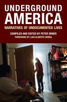 Underground America PDF