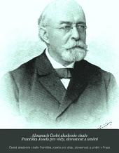 Almanach České akademie císaře Františka Josefa pro vědy, slovesnost a umění: Svazek 9