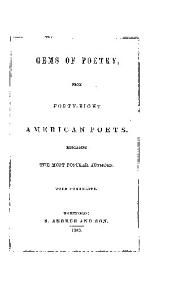 GEMS OF POETRY, FROM FORTY-EIGHT AMERICAN POETS.