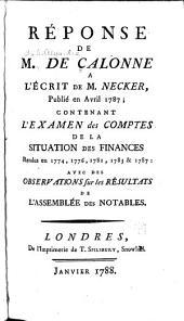 Réponse de L. N. M. Carnot ... au rapport fait sur la conjuration du 18 fructidor, au Conseil des cinq cents