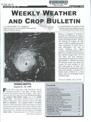 Weekly Weather And Crop Bulletin Book PDF